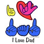 I-L-Y Dad