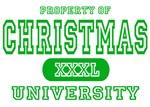 Christmas University T-Shirts