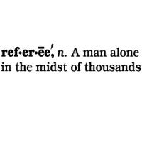 Referee Definition