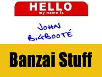 Enter for Buckaroo Banzai merchandise!