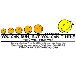 You Can Run, but You Can't Hide
