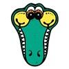 Silly Crocodile Face