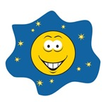 Smiley Face In The Stars