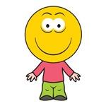 Boy Smiley Face