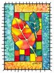 Autumn Quilt Watercolor