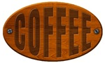 Wooden Coffee Plaque