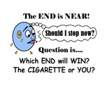 LIFE AT THE END OF  A CIGARETTE?