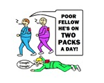 TWO PACKS A DAY