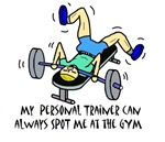 PERSONAL TRAINER CAN SPOT ME AT GYM