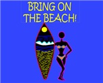 BRING ON THE BEACH BLUE BKG