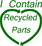 I Contain Recycled Parts