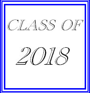 Class of 2018 t-shirts