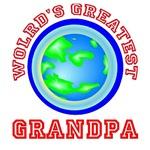 Wolrd's Greatest Grandpa Shirts, T Shirts