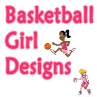Basketball Girl Designs