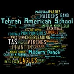Tehran American School Multi-Color Word Cloud