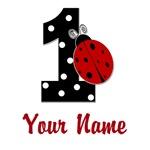 1 Ladybug ANY NAME! Customize