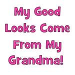Good Looks from Grandma - Pink