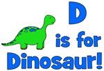 D is for Dinosaur!