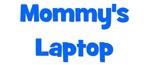 Mommy's Laptop blue