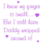 Daddy Wrapped Around Finger - Purple