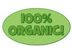100% Organic (green)