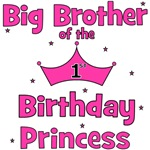 Big Brother 1st Birthday Princess