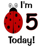 Ladybug I'm 5 Today!