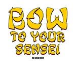 Jiu Jitsu Girl: Bow to your sensei