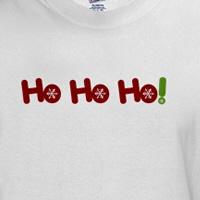 ho ho ho snowflake