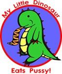 My Little Dinosaur Eats Pussy!