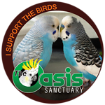 Birds of The Oasis Parakeet Collection