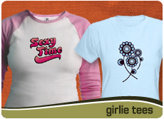 girlie tees