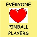 a funny pinball joke on gifts and t-shirts.