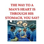 a funny cardiology joke on gifts and t-shirts.