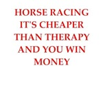 funny horse racing joke on gifts and t-shirts.