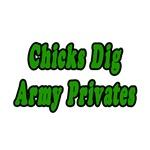 Chicks Dig Army Privates