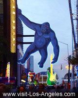 King Kong Holding a Guitar