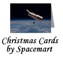Space & Astronomy Christmas Cards- aslo traditiona
