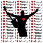 MUSICAL - GUITARS - I LOVE MUSIC