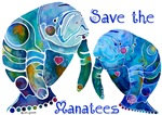 Two Save The Manatees in Blues