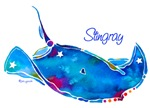Stingray in Bold Colors