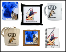 GSD Mousepads, Mugs and More