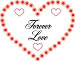 Forever Love Heart Design