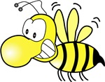 The Original Cute Stinger Bee Design