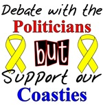 Debate with Politicians but Support Our Coasties