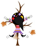Witch Hitting a Tree
