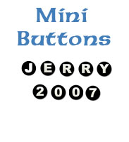 Mini Buttons Letters and Numbers
