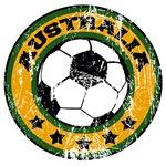 Australia Soccer (distressed)