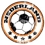 Nederland Soccer (distressed)