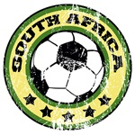 South Africa Soccer (distressed)